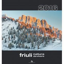 Calendario 2016 Friuli Natura da vivere